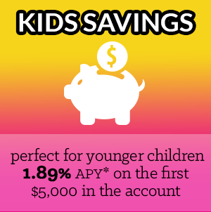 kid's savings account