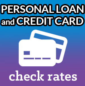 personal loan and credit card rates